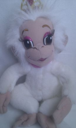 Adorable Big My 1st 'Tallulah Talking & Blow a Kiss Plush Monkey' Princess Barbie